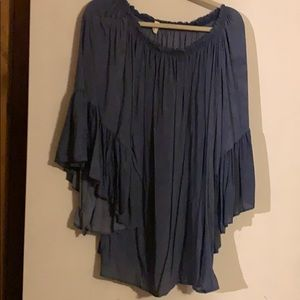Tunic style bathing suit cover dress